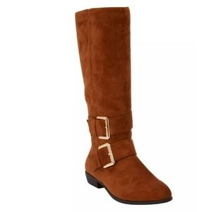 NIB 10W STINA WIDE CALF BOOT BY COMFORTVIEW